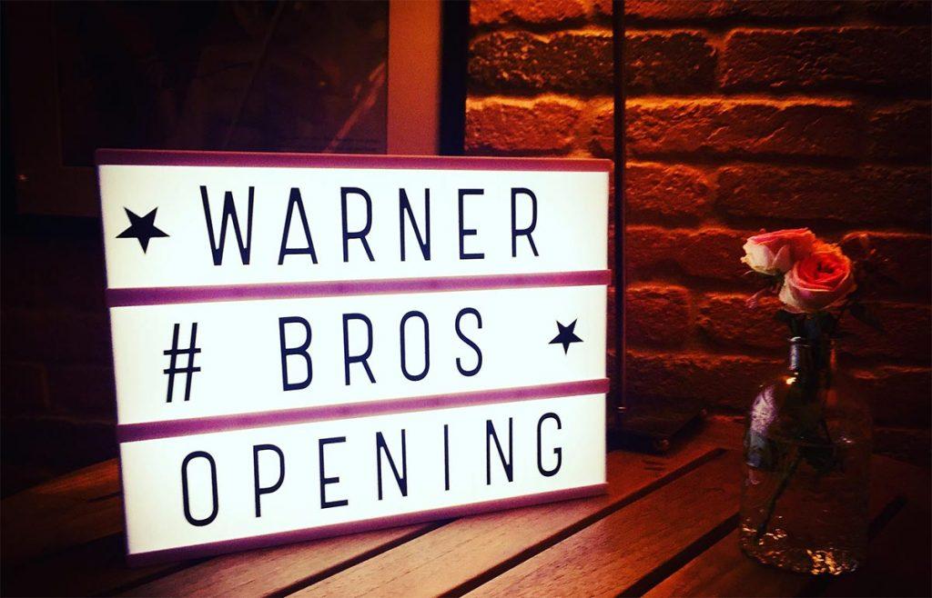 Soirée Opening de Warner Bros