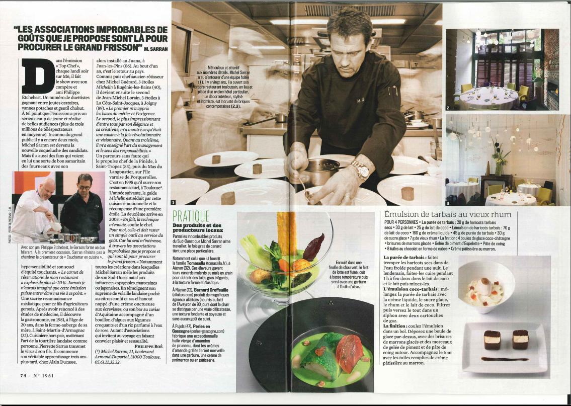 Atlantis Television - Top Chef: Michel Sarran, un nouveau souffle dans l'émission de M6