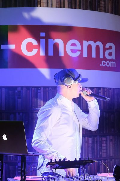 Atlantis Television - THE GALA EVENING TO LAUNCH E-CINEMA.COM, THE FIRST CINEMA ON LINE